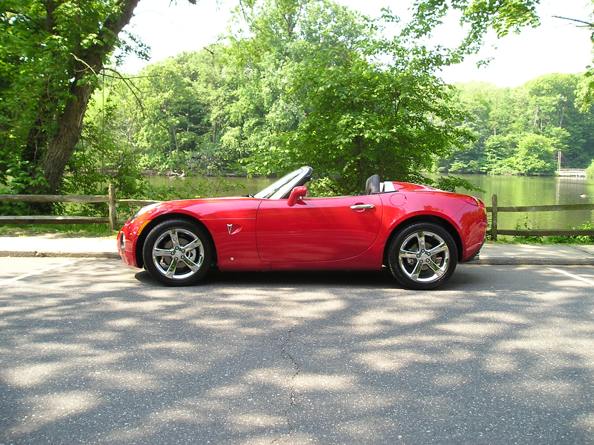 2007 Pontiac Solstice Gxp Aggressive Red Automatic For
